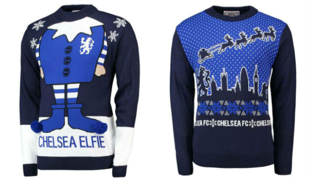Chelsea Christmas Jumpers