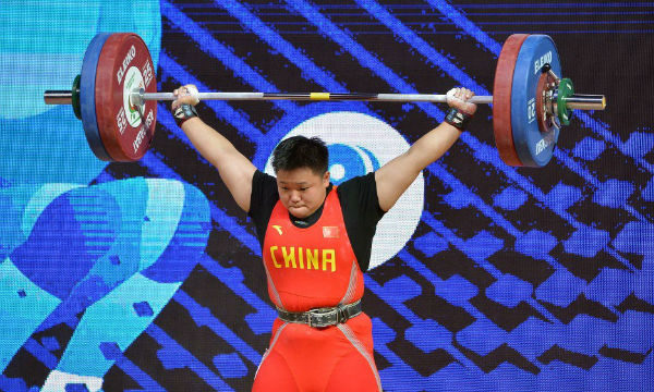 Chinese Women Team win forth gold in IWF 2018