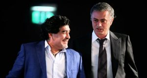 Diego Maradona picks Jose Mourinho