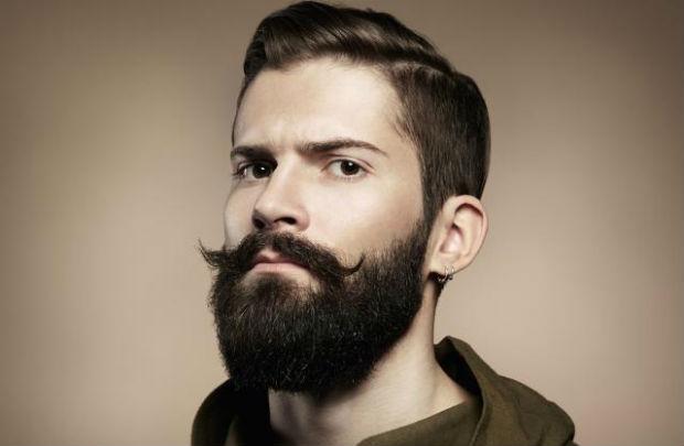 Edgy Elegance Beard Style
