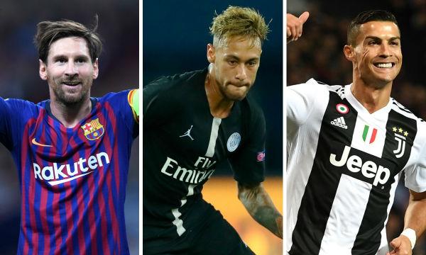 Messi and Ronaldo among the European golden shoe race