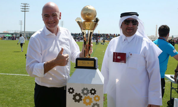 Gianni Infantino believes Qatar will arrange the 'best World Cup ever'