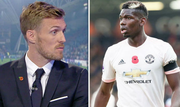 Paul Pogba and Fletcher