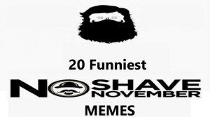 funniest no shave november memes, movember memes, beard memes