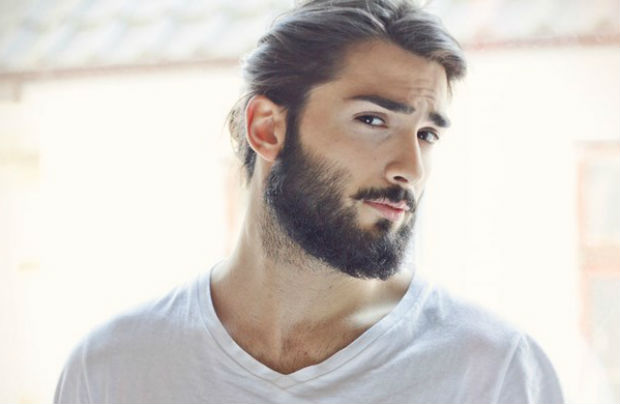 Long Stubble Beard Style