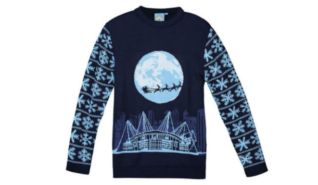 Manchester City Christmas Jumpers