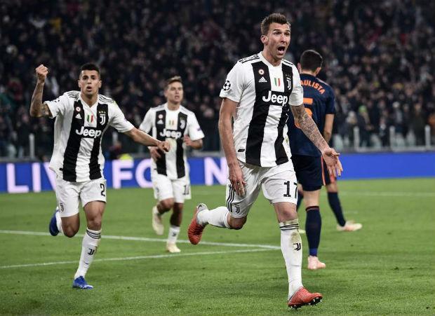 Juventus defeated Valencia