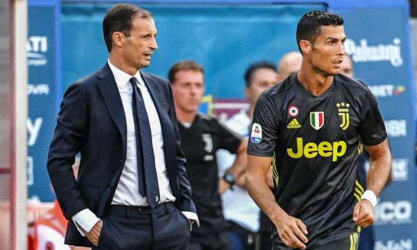 Massimiliano Allegri praises Cristiano Ronaldo