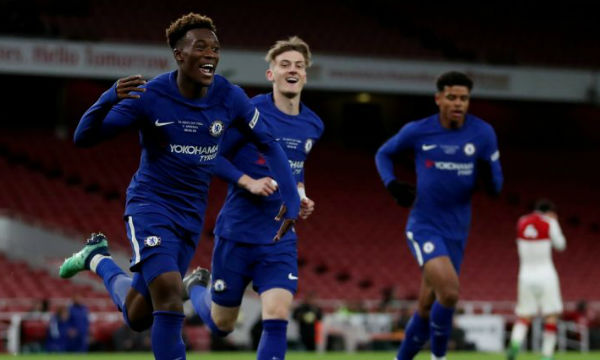 Maurizio Sarri believes Hudson-Odoi is not ready