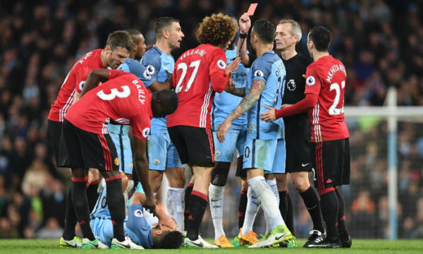 Jose Mourinho still angry at Sergio Aguero