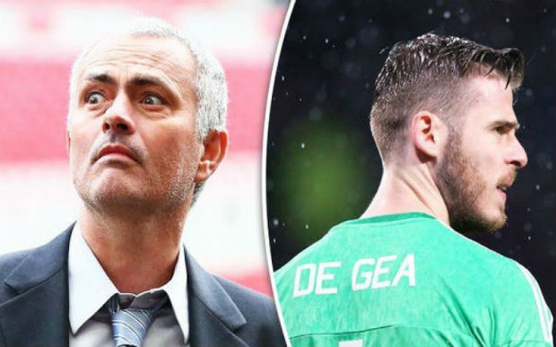 Jose Mourinho on David de Gea's criticism