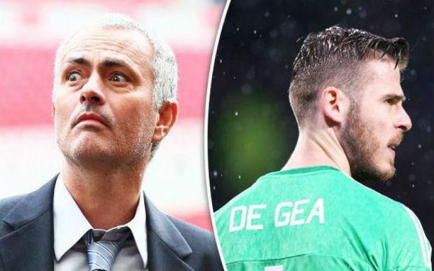 Jose Mourinho on David de Gea's criticism
