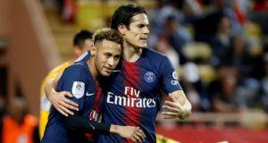 Neymar is happy for Edinson Cavani