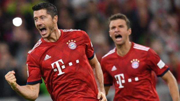 Bayern Munich defeated Benfica
