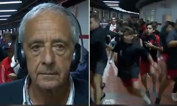 River Plate president Rodolfo D'Onofrio sees no reason for stadium closure