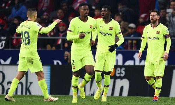 Sergio Busquets praises Ousmane Dembele