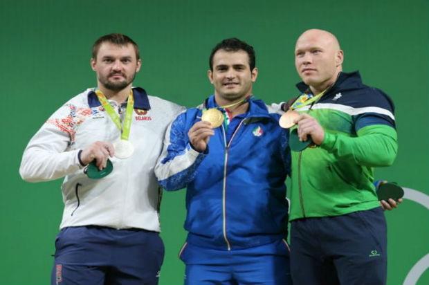 Iranian Weightlifter Sohrab Moradi