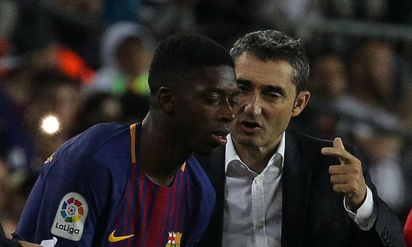 Valverde expects a lot from Ousmane Dembele