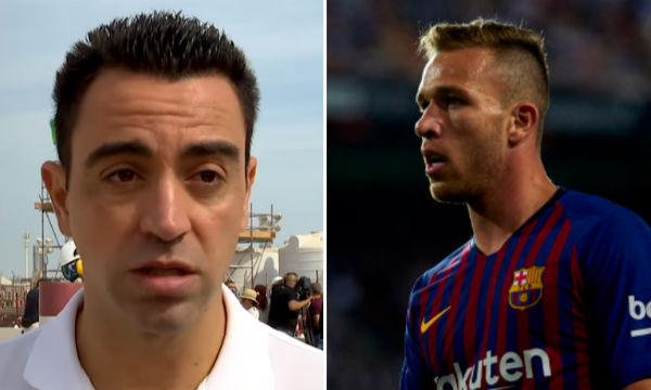 Barcelona found replacement of Xavi in Arthur