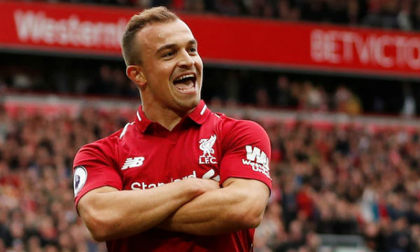 Xherdan Shaqiri enjoys his life at Liverpool