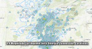 4.4 Magnitude Earthquake Jolts Georgia, Tennessee, Carolinas-USGS