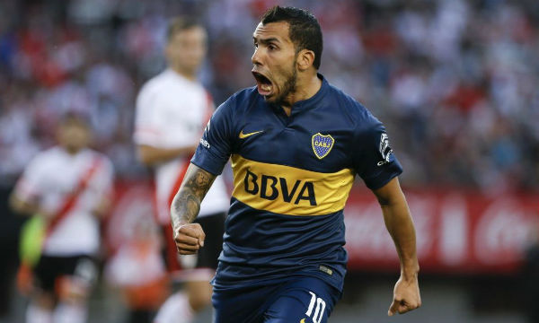 Carlos Tevez says River Plate now have less pressure
