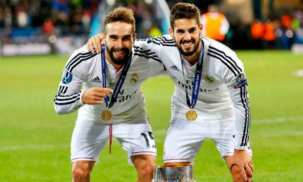 Dani Carvajal says Isco is the most-loved player