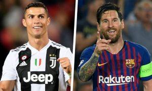 Cristiano Ronaldo invites Lionel Messi to Serie A