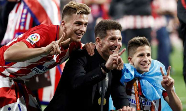 Diego Simeone is having the 'shiver of excitement'