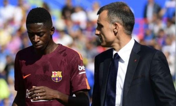 Ernesto Valverde issues warning against Ousmane Dembele