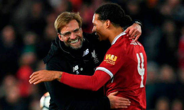 Jurgen Klopp tells he had faith in Virgil van Dijk