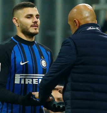Luciano Spalletti thinks Inter Milan is facing tension
