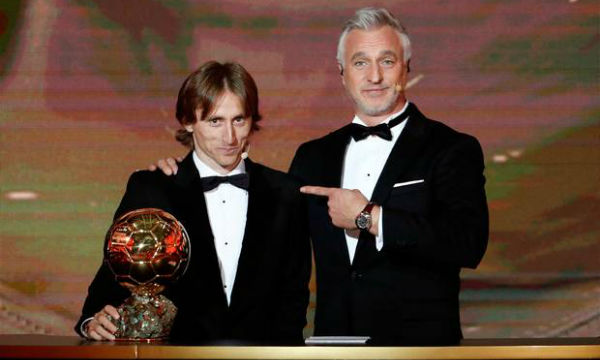 Luka Modric 'honoured' after winning men's 2018 Ballon d'Or