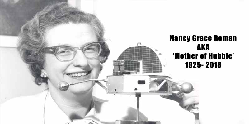 Nancy Grace Roman, 'Mother of Hubble,' Dies at 93