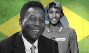 Pele believes Neymar needs to dive less