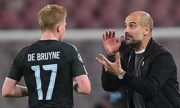 Pep Guardiola thinks Kevin De Bruyne's injury could be a blessing