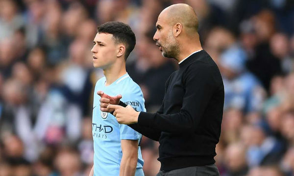 Pep Guardiola thinks Manchester City youngster Phil Foden is a 'diamond'