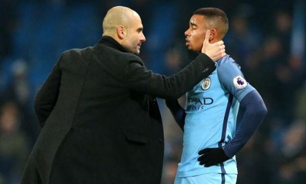 Pep Guardiola praised Gabriel Jesus