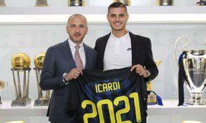 Piero Ausilio insists Inter Milan captain Mauro Icardi will never join Juventus