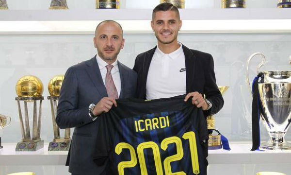 Piero Ausilio insists Inter Milan captain Mauro Icardi will never join Juventus