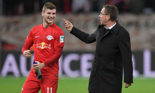 Ralf Rangnick believes Timo Werner is in the 'best hands'