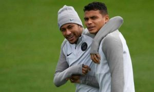 PSG captain Thiago Silva is not sure about the severity of Neymar's injury