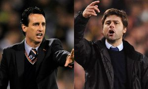 Unai Emery wants Spurs manager Mauricio Pochettino to reject Manchester United