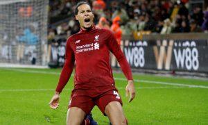 Virgil van Dijk reveals he played through illness