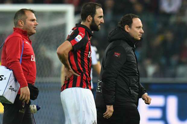 Gennaro Gattuso confirms Gonzalo Higuain's fever