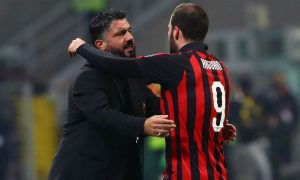 Gennaro Gattuso confirms he benched Gonzalo Higuain at the Supercoppa Italiana due to his fever