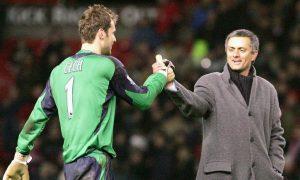 Jose Mourinho pays tribute to retiring Petr Cech
