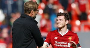 Jurgen Klopp is delighted with the new Liverpool contract of Andy Robertson