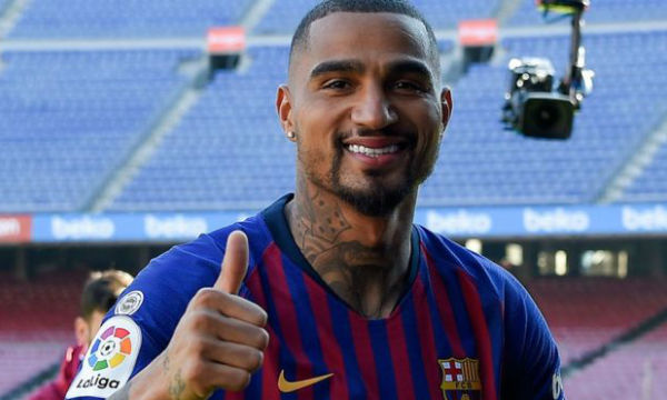 Barcelona new signing Kevin-Prince Boateng declares Lionel Messi as the best in the world