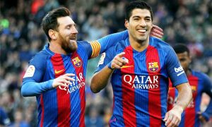 Luis Suarez says Lionel Messi's absence is not an excuse for Barcelona's Loss